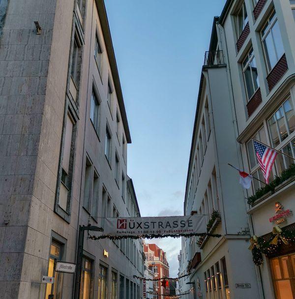 Interessante Shoppingstraße in Lübeck, die Hüxstraße