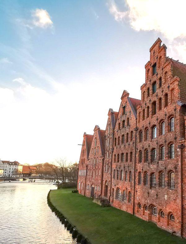 Die Salzspeicher in Lübeck