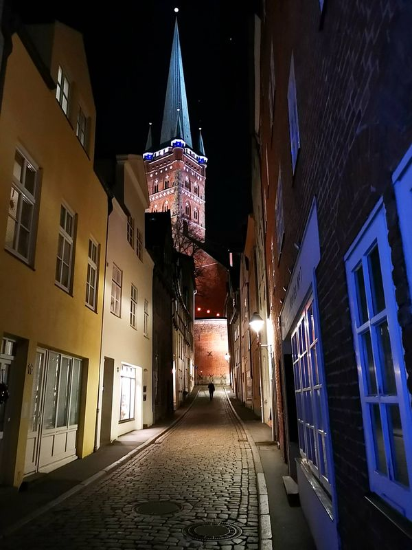 kleine Gasse in Lübeck