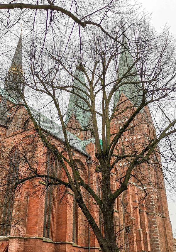 Die Marienkirche in Lübeck