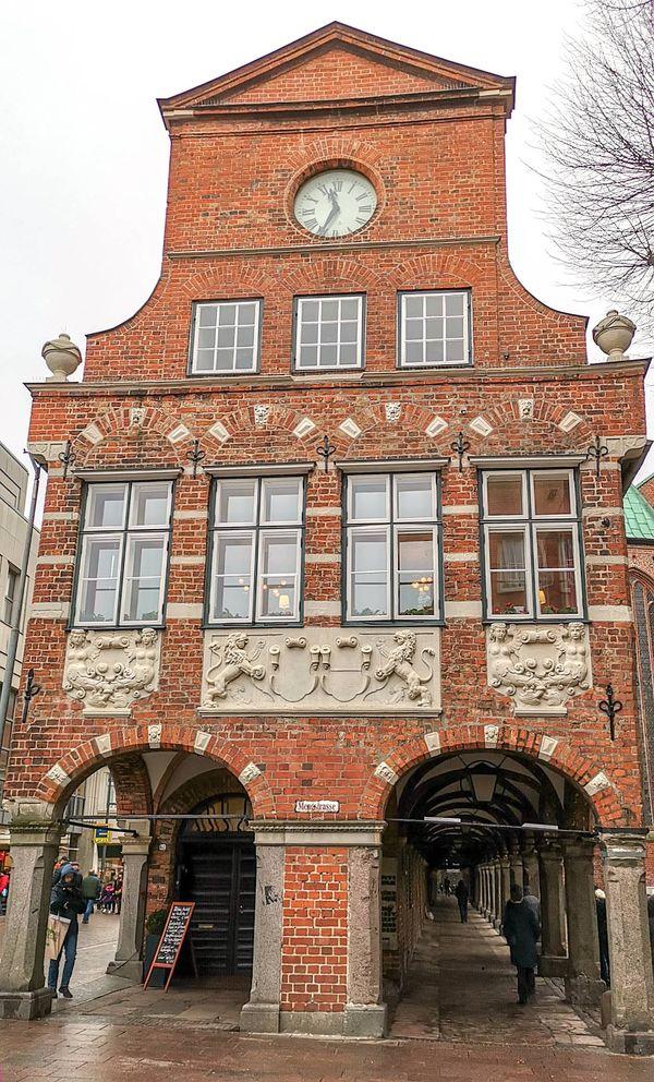 Ansicht vom Rathaus Lübeck