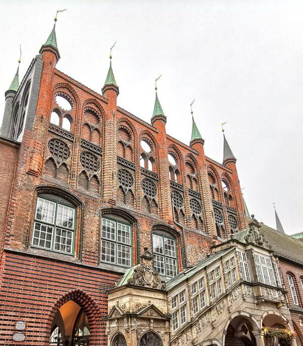 Das Rathaus von Lübeck