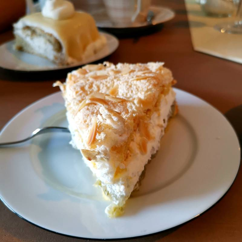 Café Beldorfer Mühle selbstgebackener Kuchen