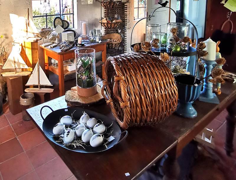 Café Beldorfer Mühle Mühlenlädchen Dekoration