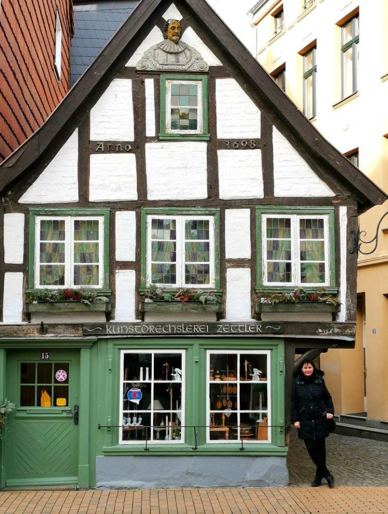 Altes Fachwerkhaus Schwerin