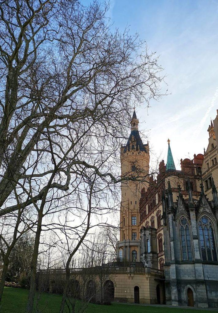 Burggarten Schweriner Schloss