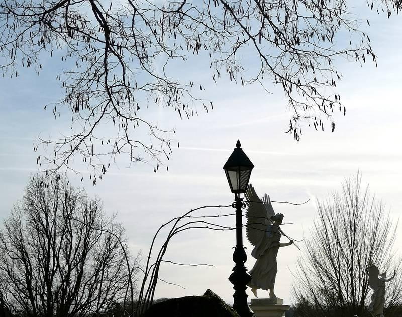Skulptur Burggarten Schweriner Schloss