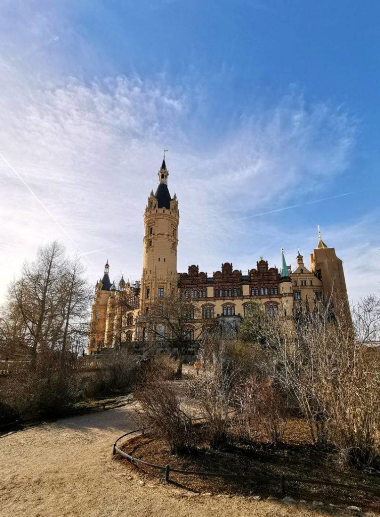Schweriner Schloss Burggarten