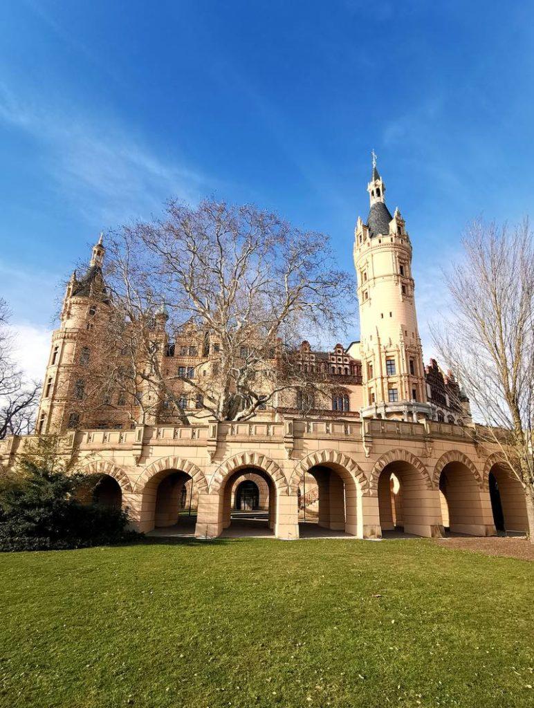 Schweriner Schloss Rückansicht