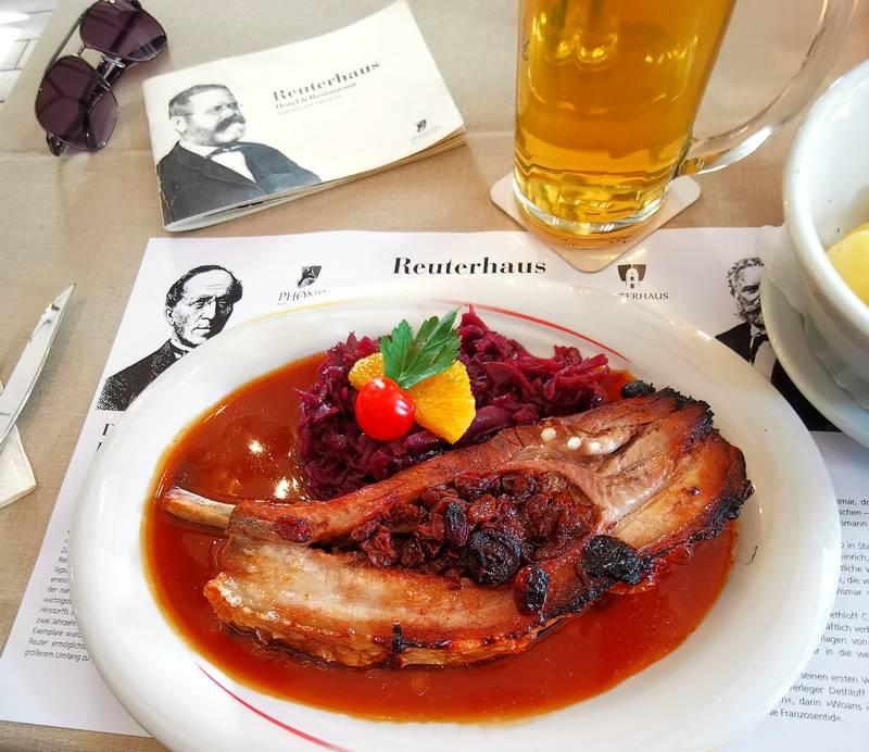 Wismar Restaurant Reuterhaus Rippenbraten