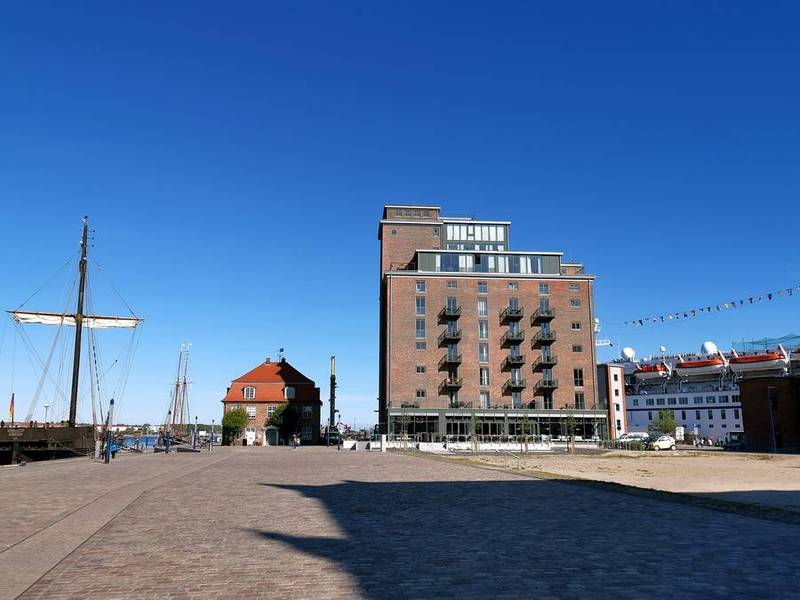 Wismar alter Hafen Ohlerich Speicher