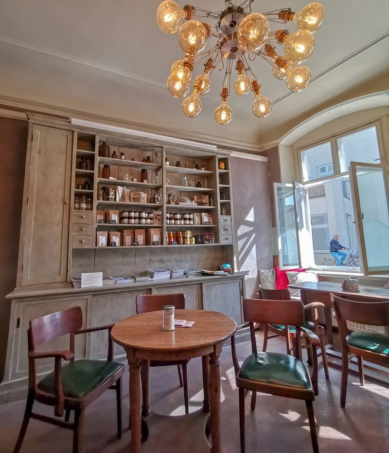 Wismar Café alte Löwenapotheke