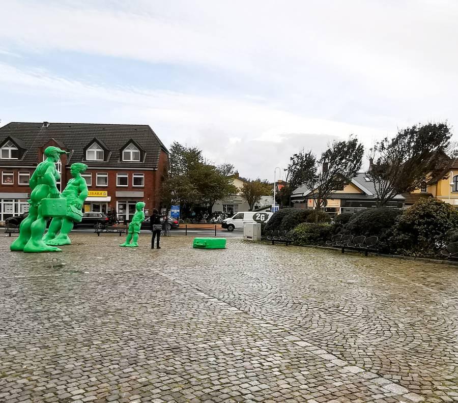 Sylt Westerland Riesenfiguren