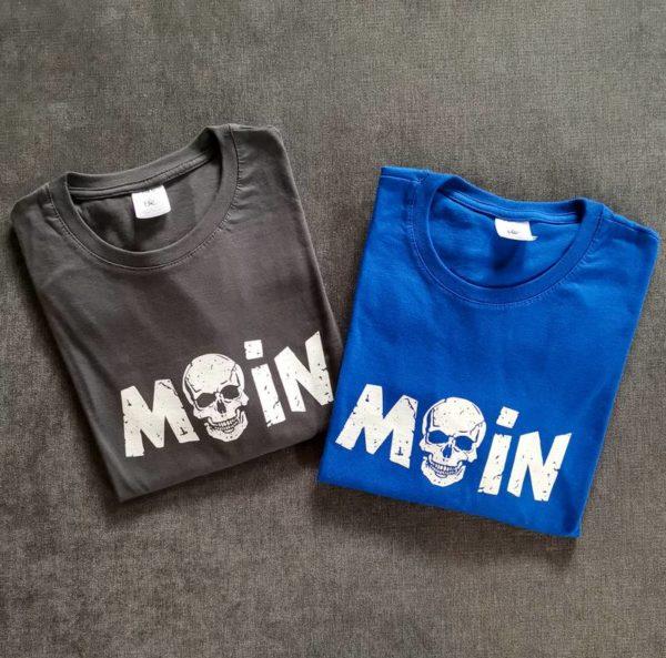 MOIN Totenkopf T-Shirt Herren