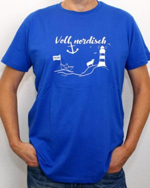 T-Shirt Voll Nordisch Herren