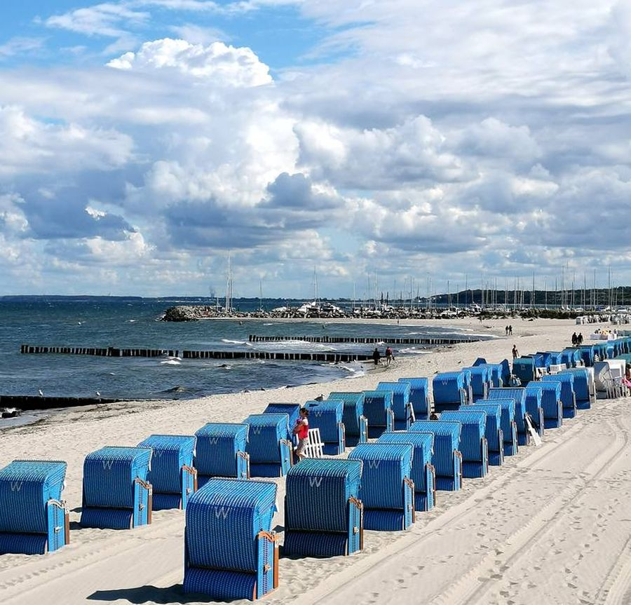 Kühlungsborn Ostsee Strandkörbe